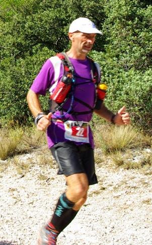 Trail de Beaumes de Venise 2014, Raphael Cochetel Coach sportif dans le Vaucluse
